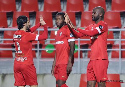 Antwerp, met een man minder, wint met 4-2 van KV Kortrijk!