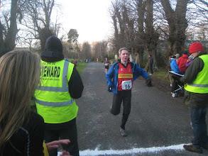 Photo: Colin Elder finishing leg4