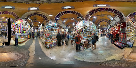 Photo: Just one of a bazillion views from within the Grand Bazaar of Istanbul. Notice the tear in the space-time continuum. I was pretty proud of that.