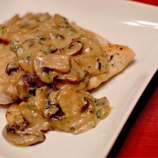 Chicken & Mushroom Fricassee