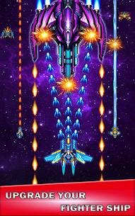 Galaxy sky shooting