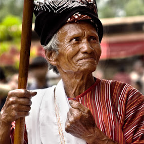 YESS by Hernan Halim - People Portraits of Men ( toraja, people, human )