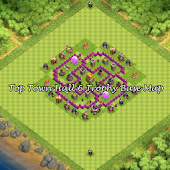 Top Town Hall 6 Trophy BaseMap