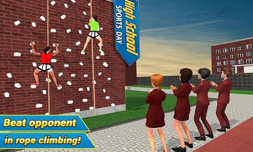 High School Girl Virtual Sports Day Game For Girls 1.4 screenshots 1