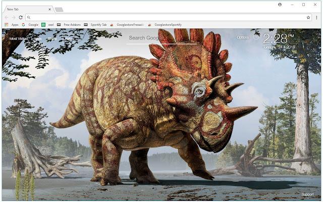 Dinosaurs HD Wallpapers Dinosaur New Tab