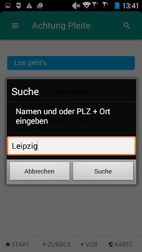 Achtung Pleite screenshot