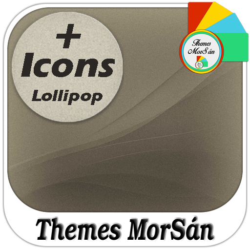 Lollipop Retro : Xperia Theme