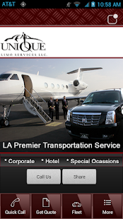 Unique Limo Services- screenshot thumbnail