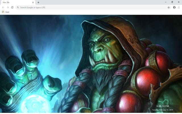 Hearthstone: Heroes of Warcraft New Tab