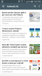 Buoni Sconto & Coupon- screenshot thumbnail