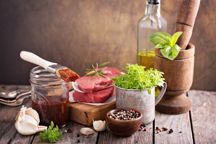 A homemade marinade can be made with a variety of flavourful ingredients and spices. Get creative.