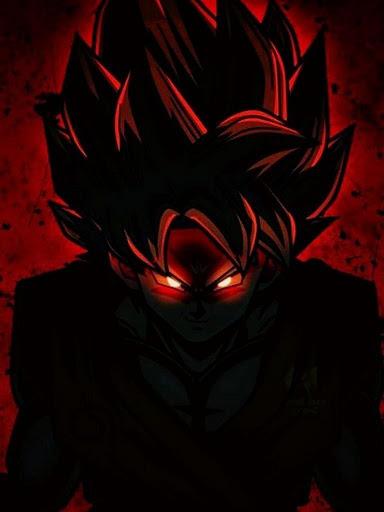 Black Goku Super Saiyan Rose HD Offline screenshot 6