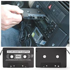 Adaptor auto retro caseta cu mufa jack pentru MP3