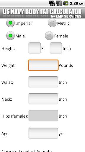 5 best online body fat calculator to calculate body fat percentage.