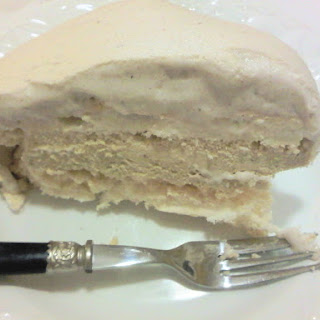 Meringue with Chestnut Mousse