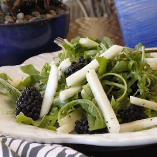 Blackberries and Arugula Salad Recipe