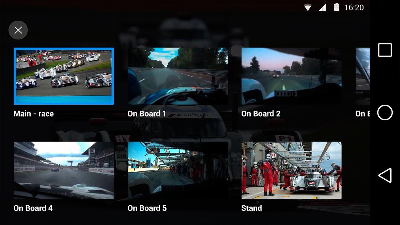 Eurosport Player- screenshot