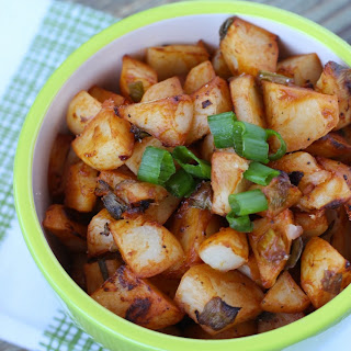 Barbecue Roasted Potatoes.
