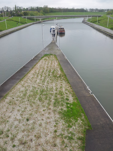 Photo: Lower canal