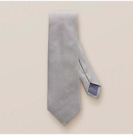 ETON grå panamavävd slips