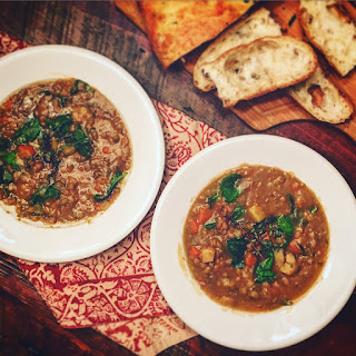 Hearty Lentil & Herb Soup Recipe