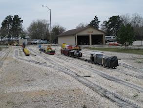 Photo: Using the classification yard.  HALS 2009-0228