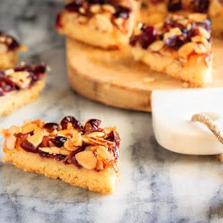 Glazed Cranberry Almond Bars.