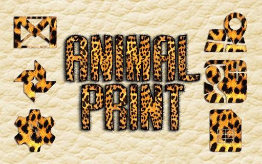 Animal Print Solo Theme