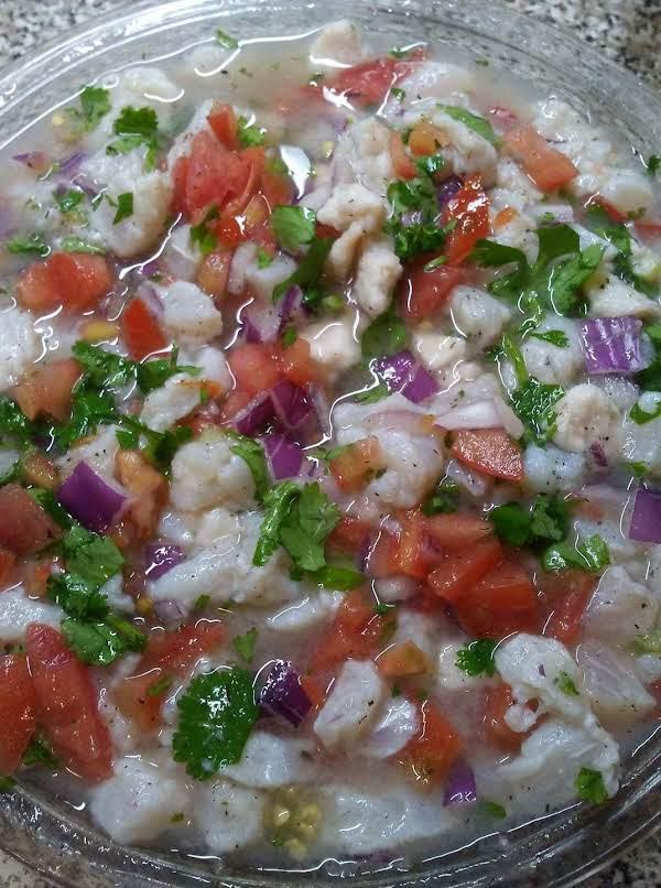 Swai Ceviche Recipe