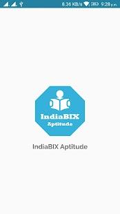 IndiaBIX Learn Aptitude - náhled