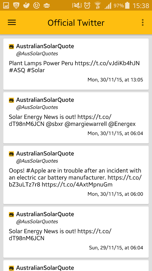 Australian Solar Quotes - ASQ- screenshot