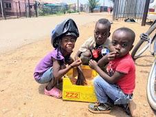 Во время велоэкскурсии по Soweto