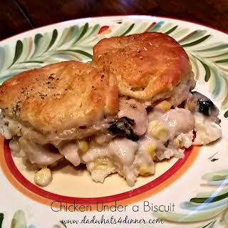 Chicken Biscuit Casserole.