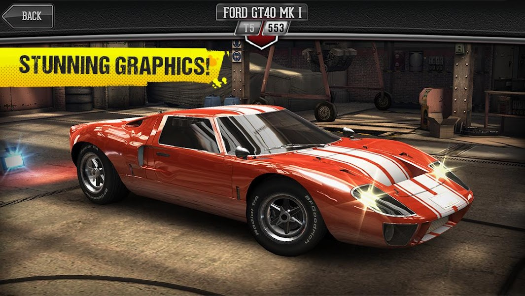 CSR Classics Mod v1.9.0 Apk (Unlimited Money) - Cover