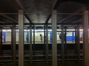 Photo: Customary NYC good-bye.