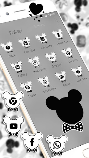 Download Cute Mouse Graffiti Theme on PC & Mac with AppKiwi