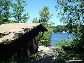 Photo: Beautiful waterfront lean tos sites at Stillwater State Park