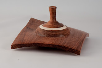 "Photo: Mike Twenty 6"" x 6"" square box [bubinga and holly]"