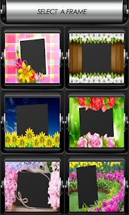 květiny fotorámečky - náhled