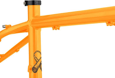 Surly Karate Monkey Frameset - Toxic Tangerine alternate image 1