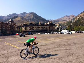 Photo: TMT athlete Colleen in Tahoe.