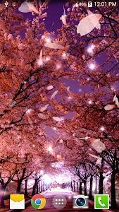 Sakura Live Wallpaper screenshot 0