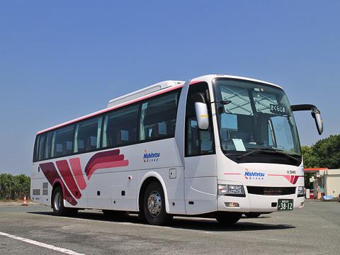 西鉄高速バス「桜島号」 3145 北熊本SAにて