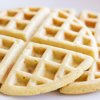 Gluten-Free Brown Sugar Waffles.