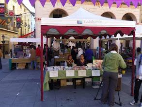 Photo: Puesto de CADIS Huesca en el Mercado Medieval organizado en Huesca por ASAPME Huesca