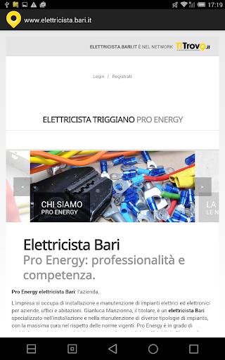 Elettricista Bari