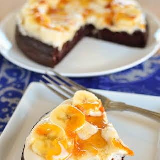 Toffee Banana Chocolate Weetabix Cake.