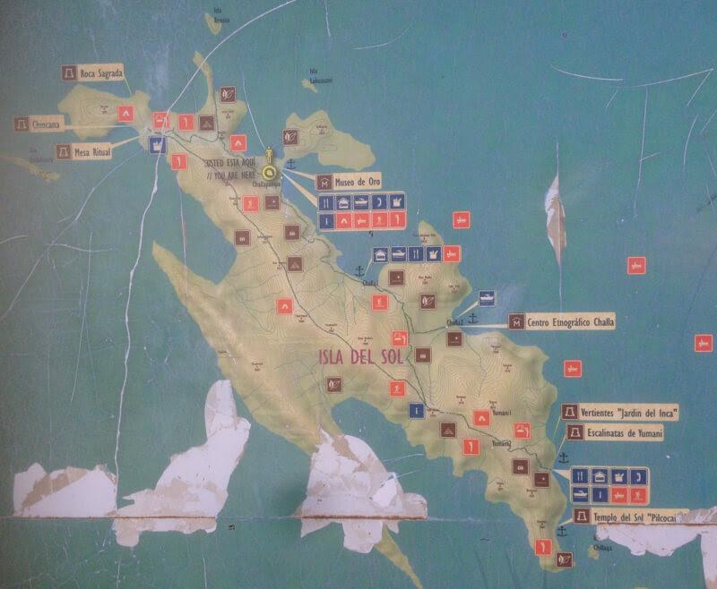 isla del sol copacabana bolivia map copacabana bolivia el lago titicaca bolivia
