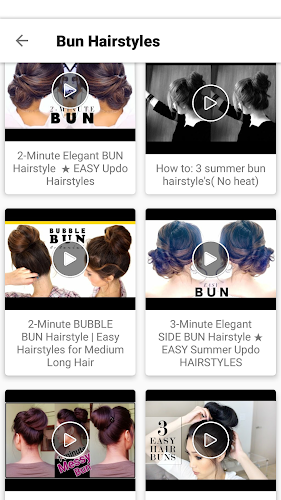 Hairstyles Videos New Easy Girls Hairstyles 2018 On Google Play