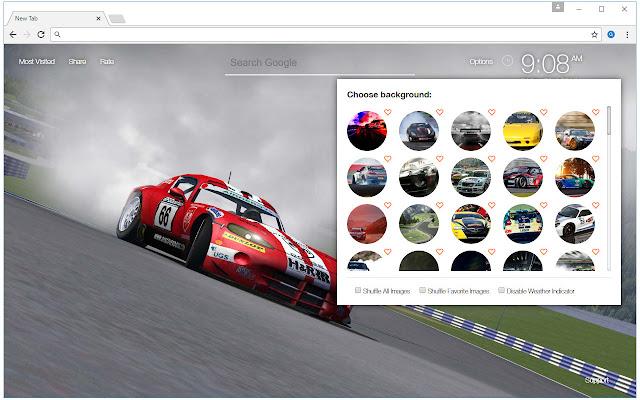 Racing car wallpaper hd drift cars new tab chrome web store - Chrome web store wallpaper ...